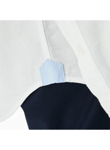 Lacoste Uzun Kollu Gömlek Beyaz